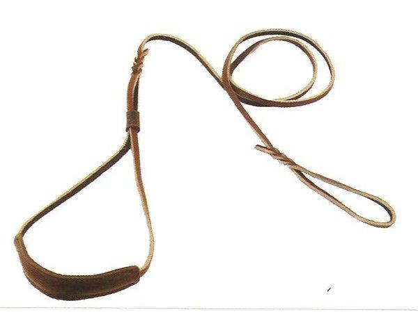 кожаная ринговка с кадыком для выставок