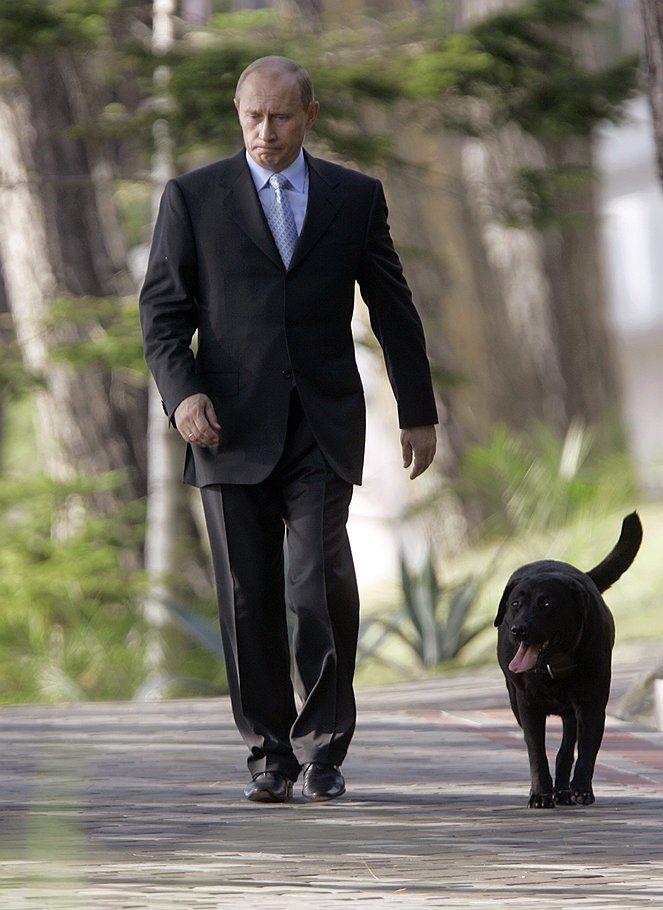 собака Путина Конни