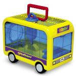 Переноска-автобус для хомяков
